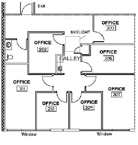 Office space warehouse space lab space for Small office floor plan